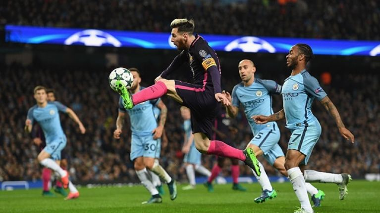 Lionel Messi involved in tunnel confrontation with Manchester City player (Report)