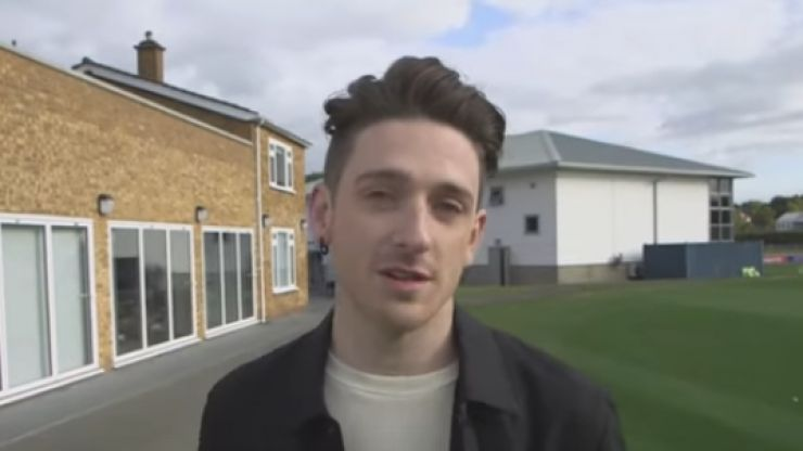 Stephen Byrne talks about his documentary on homosexuality and football