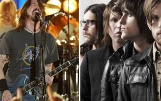 Kings of Leon, Foo Fighters, Green Day and Alt-J are all at a 3 day festival that's very cheap