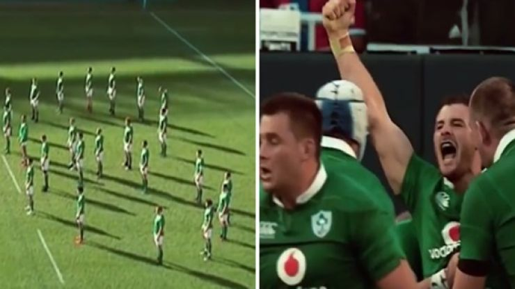 WATCH: This montage of Ireland's historic win over New Zealand will get you pumped for the return
