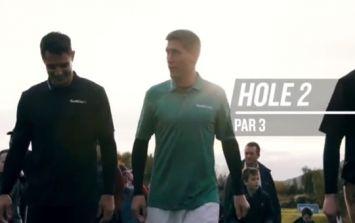 WATCH: Ronan O'Gara takes on Dan Carter in a riveting game of rugby golf