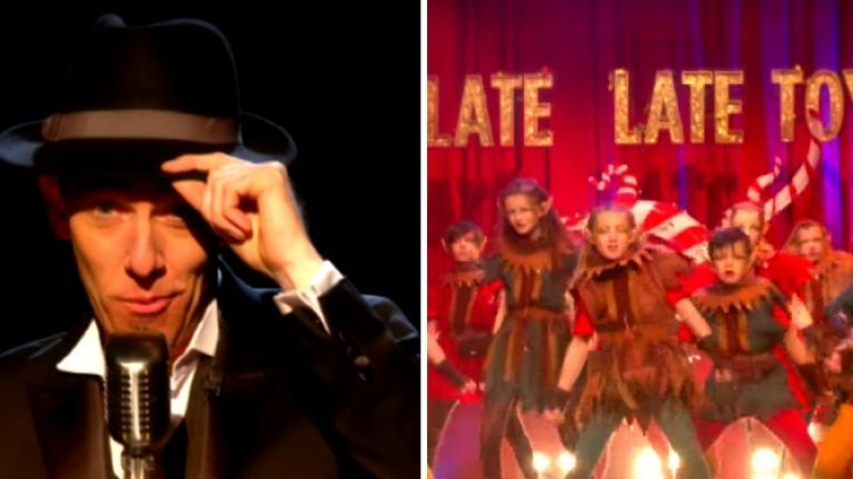 Ryan tubridy went full hugh jackman in the late late toy show.