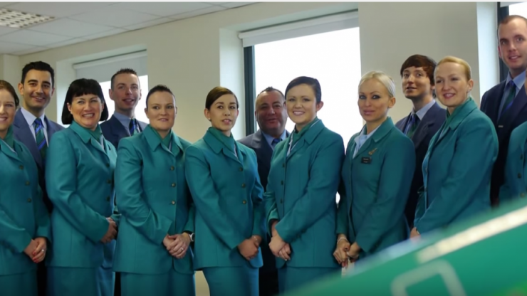 WATCH: Aer Lingus lost their #AirlineChallenge with Air New Zealand and they are following through