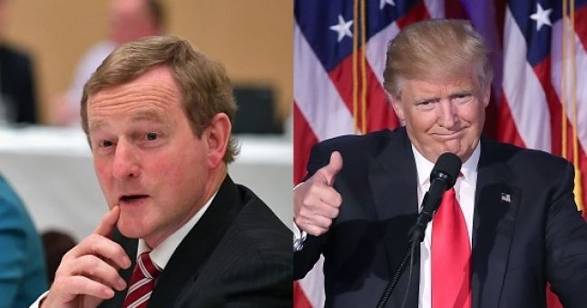 Image result for enda kenny speech trump