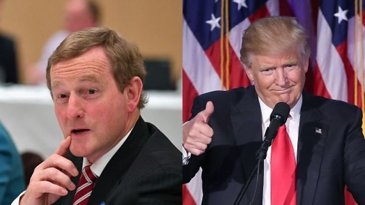 WATCH: Trump tweets video in honour of Enda Kenny, set to amazingly inappropriate song
