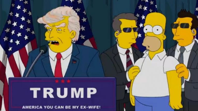 Simpsons writer reveals how he predicted the presidency of Donald Trump