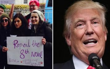 PICS: Actress Ellen Page was in Dublin to support a Repeal the 8th rally and protest against Trump