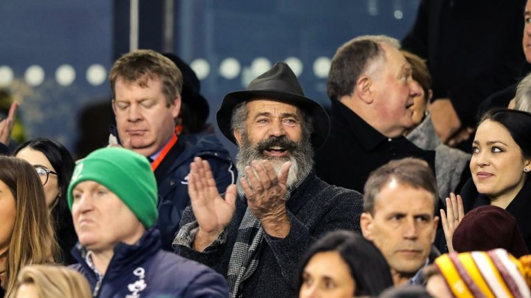 GALLERY: Mel Gibson and his impressive beard were at the Aviva for Ireland v Australia on Saturday