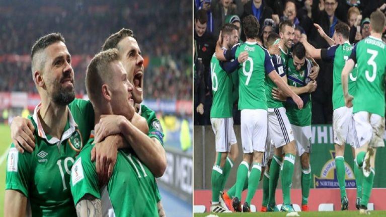 Sinn Féin have called for the formation of a United Ireland soccer team