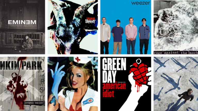 15 albums that defined your angsty teenage years