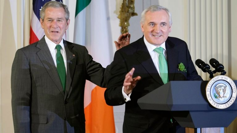 """Bertie Ahern WhatsApp audio messages about Tinder date are """"100% not true"""""""