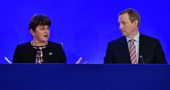 'UK considering moving their border to include Republic,' says Arlene Foster | JOE.ie