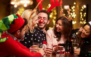 PICS: Forget Christmas jumpers, the Christmas jumper suit is the outfit you need this festive season