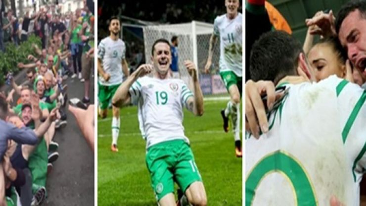 Reeling in Euro 2016 - When the Irish fans took over France in June