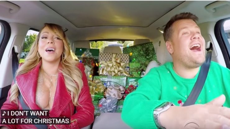 WATCH: The 'All I Want For Christmas' Carpool Karaoke with Mariah Carey, Adele, Chris Martin, Elton John, Red Hot Chilli Peppers & loads more is the best yet