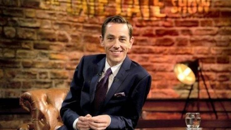 Here's the line-up for this week's edition of The Late Late Show