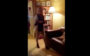 VIDEO: Irish mammy gets the shock of her life when she looks under her Christmas tree