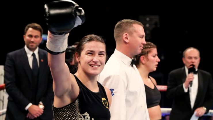 Another stunning Katie Taylor win and Memphis Depay's 'matador' outfit got people talking