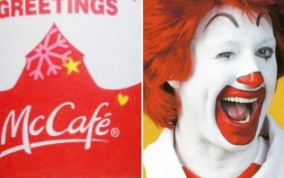 McDonald's may want to redesign their accidentally obscene Christmas cups