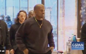 VIDEO: Kanye West arrives at Trump Tower and the speculation has already started