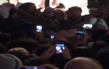 WATCH: Hundreds join Glen Hansard, Gavin James and Damien Rice for a sing-song on Grafton Street