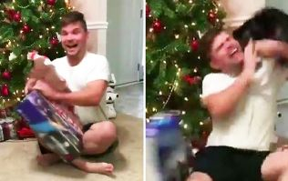 WATCH: Psycho cat's reaction to man getting a PlayStation for Christmas has gone viral