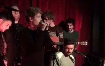 WATCH: Kodaline, Gavin James and more star-studded guests sing 'Fairytale of New York' in Dublin pub
