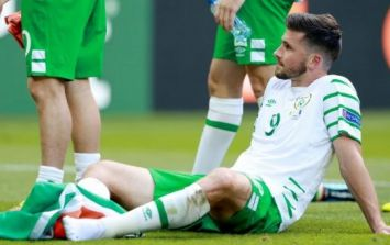 PICs: Shane Long's wonderful gesture to young fan after Euro 2016 defeat has only just been revealed