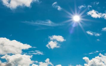 Ireland has experienced its highest temperatures today since 1976