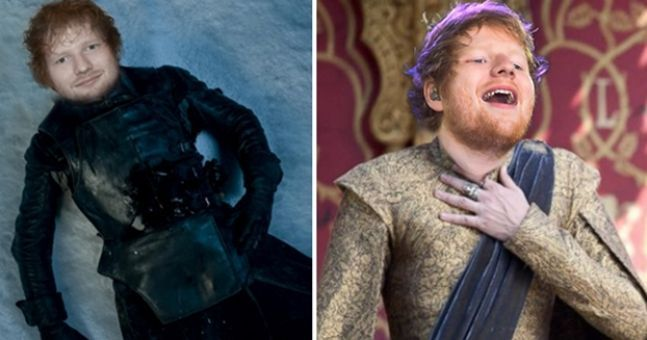Ed Sheeran Has Revealed Details Of His Game Of Thrones Appearance - 17 hilarious reactions to ed sheeran appearing in game of thrones
