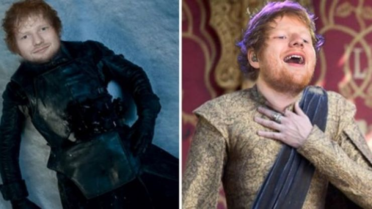 Ed Sheeran has revealed details of his Game of Thrones appearance