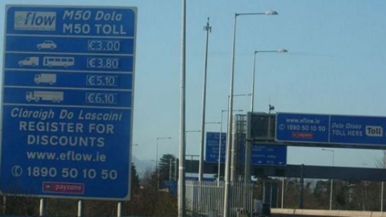 Commuters facing lengthy tailbacks after collisions on the M1 and M50