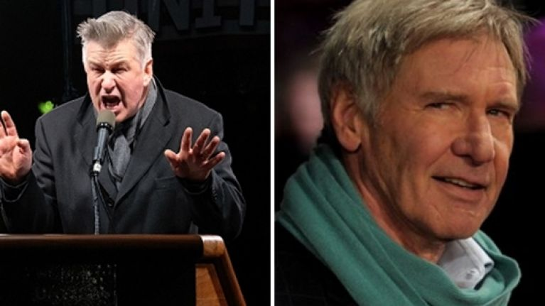Alec Baldwin takes a very personal dig at Harrison Ford | JOE is the