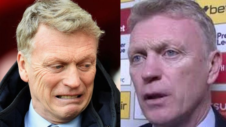 David Moyes apologises to Match of the Day reporter for 'slap' threat