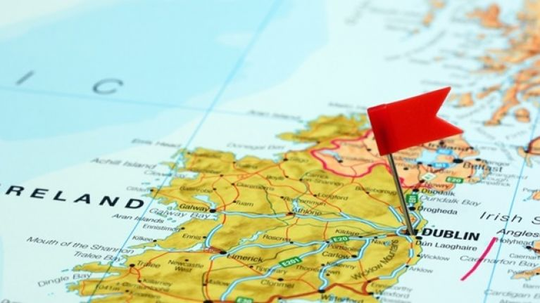 Map Of Ireland With Towns And Counties.Can You Name The Irish Counties Where These Towns Are Located Part