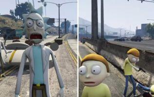 This GTA V update lets you play as Rick & Morty in Los Santos
