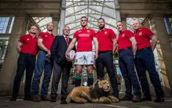 An unfortunate tweet about Ireland's contribution to the Lions was swiftly deleted this afternoon