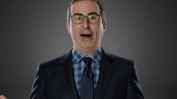 After three years on TV, someone is finally suing John Oliver and his show Last Week Tonight