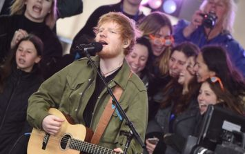 Big crowds gather outside the Galway pub where Ed Sheeran is reportedly shooting a music video