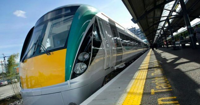WATCH: Irish Rail explain delays with footage of a cyclist's wipeout at a level crossing