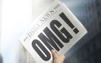 PIC: Front page headlines don't come much better than this effort from an Australian newspaper