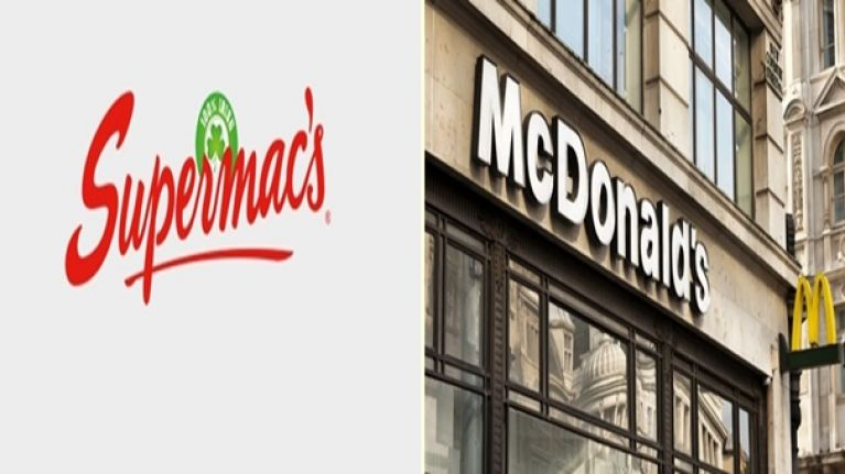 """Supermac's accuse McDonald's of """"trademark bullying"""" as ongoing dispute continues"""