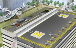 You may soon be able to book a flying-car via Uber