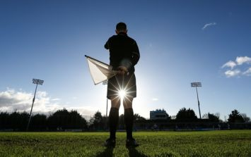 The referee at the Waterford V Cork Under-21 was causing massive problems outside the ground