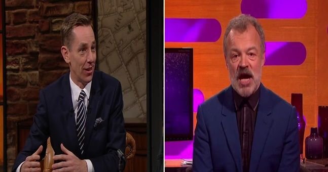 Tubridy & Norton: Here are the line-ups for tonight's Late Late and Graham Norton show