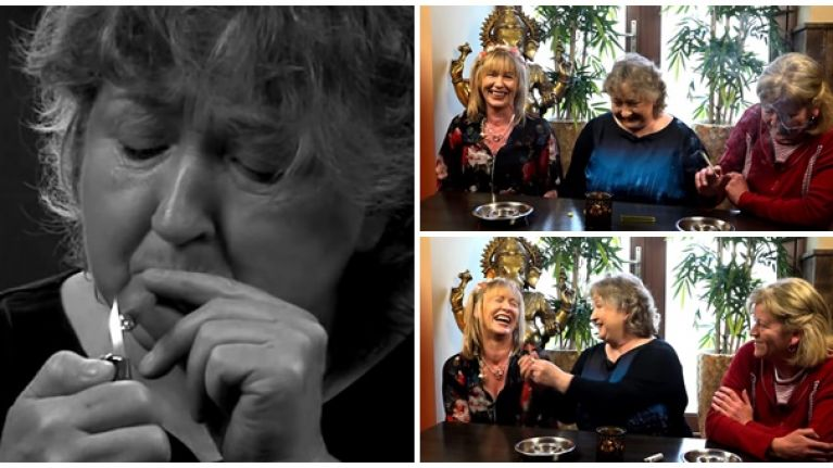 WATCH: This is what happened when three Irish mammies smoked weed for the first time