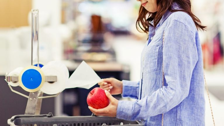 This is how Aldi staff manage to scan your shopping so damn fast