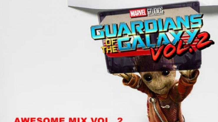 LISTEN: Here's the Guardians Of The Galaxy Vol.2 soundtrack in full