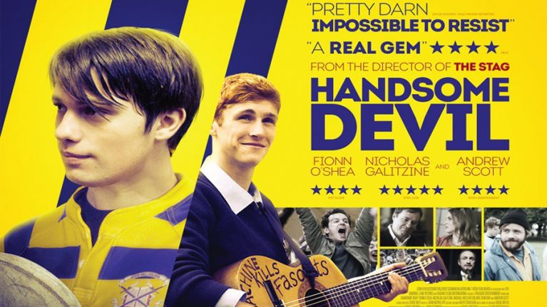 The star & director of Handsome Devil chat choreography with Brian O'Driscoll, LGBT in 2017 Ireland & inverting film stereotypes