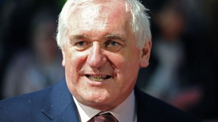 Bertie Ahern has some interesting thoughts on a united Ireland